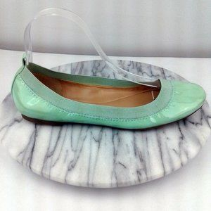 Banana Republic Abby Mint Green Ballet Flats